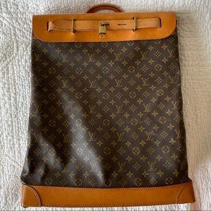 Authentic Louis Vuitton Monogram Steamer Bag 45